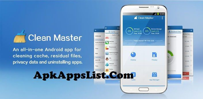 Clean Master APK 5.9.5 Android App Full Free Download