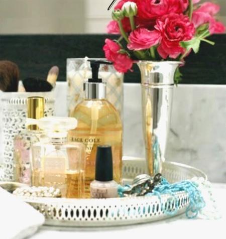 Silver Tray For My Dressing Table · Bathroom TrayVanity ...