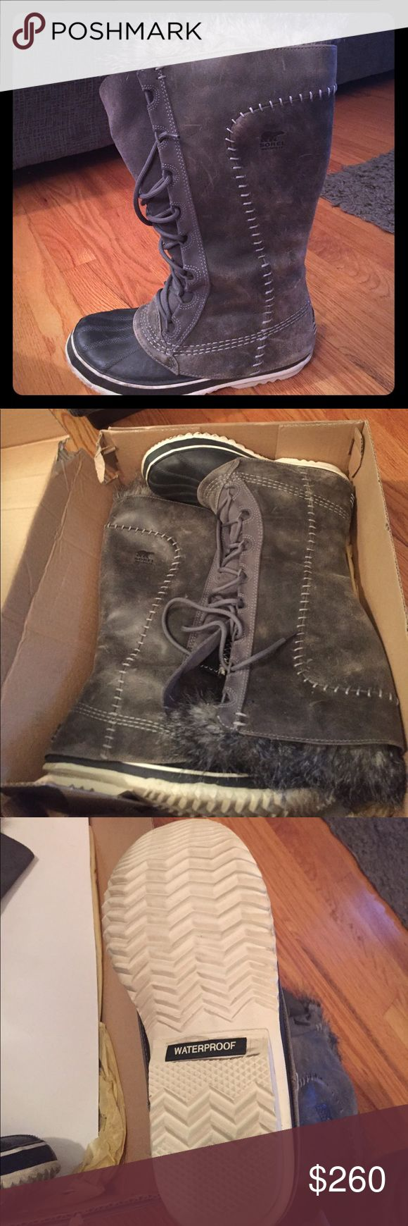 Sorel Cate the Great Size 8 One pair of Cate the Great Sorels winter boots. Sorel Shoes Winter & Rain Boots