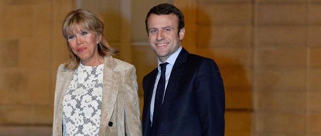 Emmanuel et Brigitte Macron, un couple à l\'assaut du pouvoir.
