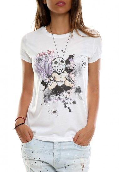 baby Jason #vagrancylifestyle #handmade #tshirt #woman