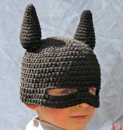 Super Hero Mask Beanie... must learn how to make it... haha