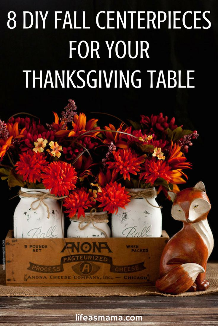 If you're having trouble coming up with some inspiration for your Thanksgiving table, or even just some Fall decor, take a look at these gorgeous centerpieces.