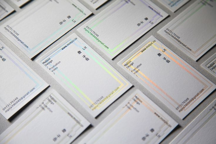 Lit - Business card on Behance