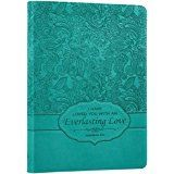"""Turquoise """"Everlasting Love"""" Bible / Book Cover - Jeremiah 31:3 (Large): Christian Art Gifts (Manufacturer): 6006937127913: Amazon.com: Books"""