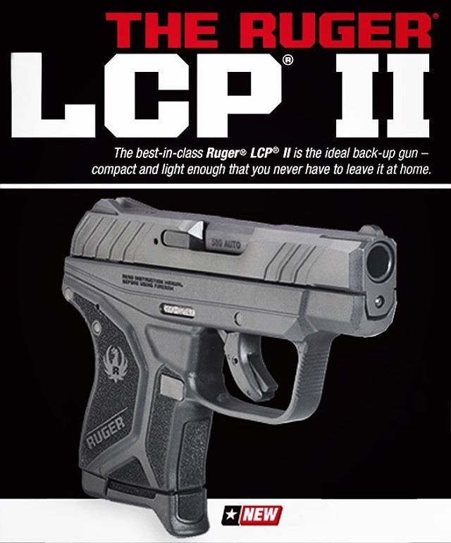 Check out the NEW Ruger LCP II!! Modern styling, improved features and a modest price - MSRP: $349.00  For more info go to Save those thumbs & bucks w/ free shipping on this magloader I purchased mine http://www.amazon.com/shops/raeind  No more leaving the last round out because it is too hard to get in. And you will load them faster and easier, to maximize your shooting enjoyment.