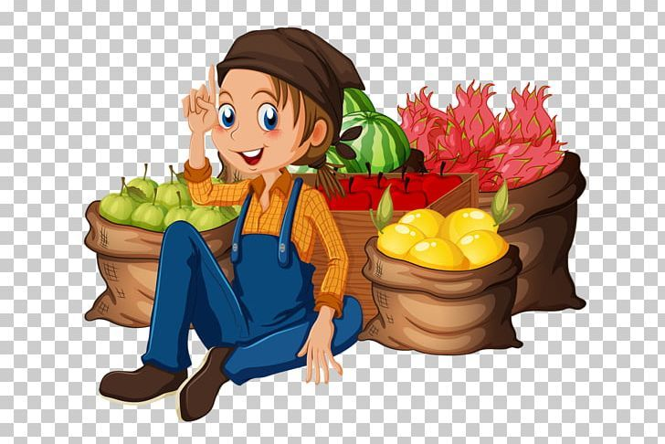 Farmer Agriculture Png Agriculture Art Banana Family Cartoon Cuisine Cartoon Png Agriculture