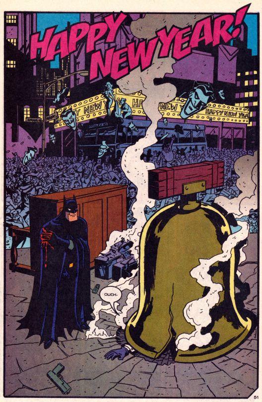 "comicbookvault: "" BATMAN ADVENTURES HOLIDAY SPECIAL #1 (Jan. 1995) Art by Kevin Altieri, Butch Lukic & Glenn Murakami Words by Paul Dini & Bruce Timm "" DC Comics"