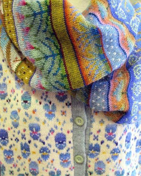 """Милые сердцу штучки: Вязание: """"Финская осень от SIRKKA KÖNÖNEN"""""""