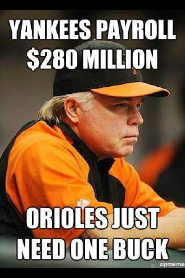 O's don't need to pay, they just need Buck!