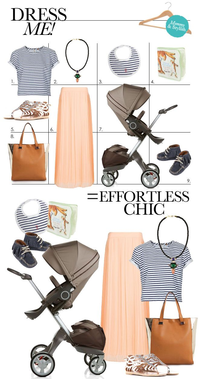 Chic warm-weather strolling with Stokke   #ChicMomMe