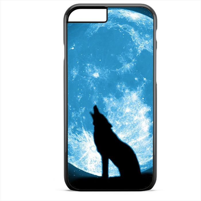 Wolf at the Blue Moon Apple Phonecase For Iphone 4/4S Iphone 5/5S Iphone 5C Iphone 6 Iphone 6S Iphone 6 Plus Iphone 6S Plus