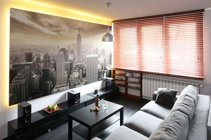 Szary salon - zobacz najciekawsze propozycje architektów  - zdjęcie numer 7