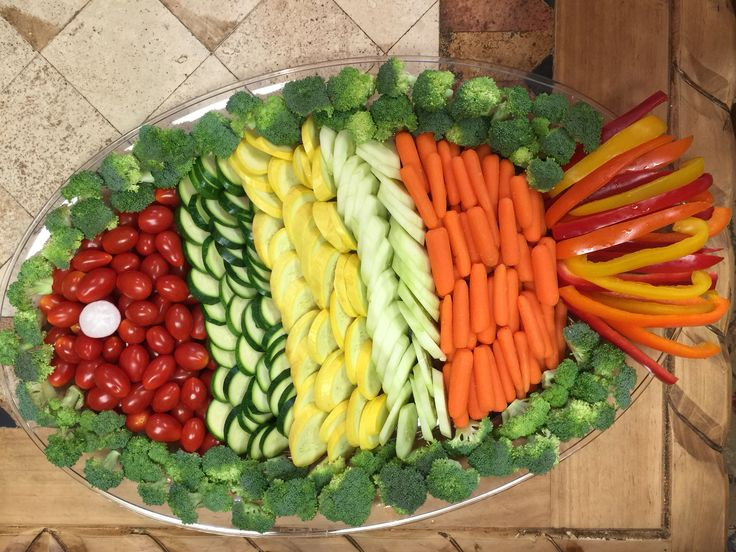 Fish shape Veggie Tray
