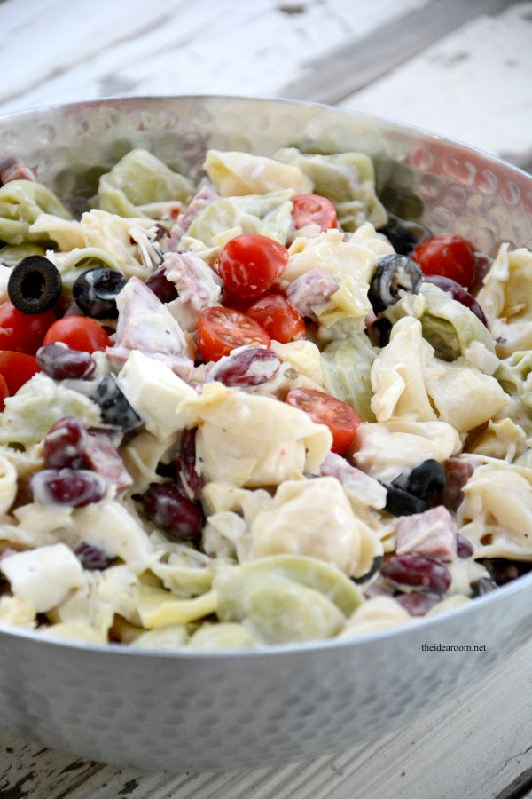 25 best ideas about cold tortellini salad on pinterest Pasta salad recipe cold