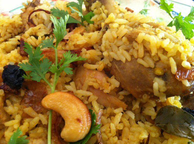 Chicken Biriyani Recipe - Kerala Chicken Biriyani - Dum biryani