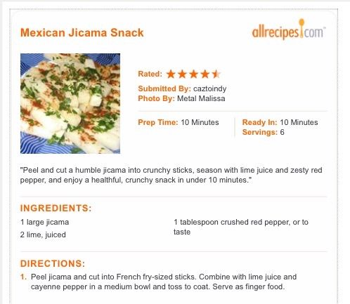 7 best 7 Spanish Recipes made with Jicama images on ...