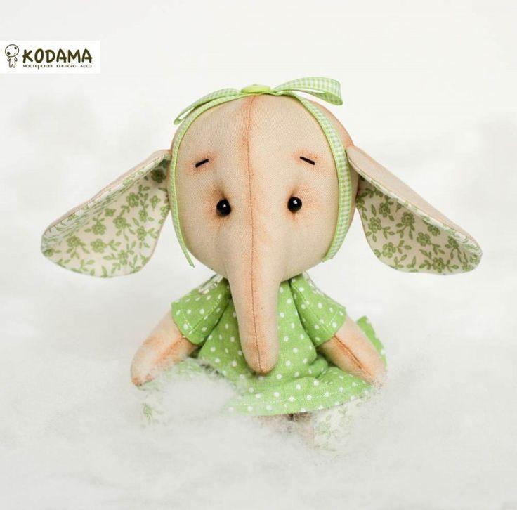 Игрушка слон Лола / Магазин-витрина товаров ручной работы