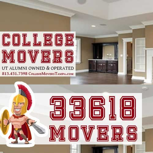 813-431-7398 33618 Mover services by nice college guys. We are prepared to carry all of your heavy items and move you home.  http://collegemoverstampa.com/movers-33618/  #33618MoverServices #MoverServices33618 #33618Movers #Movers33618 #33618Mover #Mover33618 #33618MovingCompany #MovingCompany33618   College Movers Tampa 813-431-7398 15425 Himes Ave Tampa, FL 33618 www.CollegeMoversTampa.com