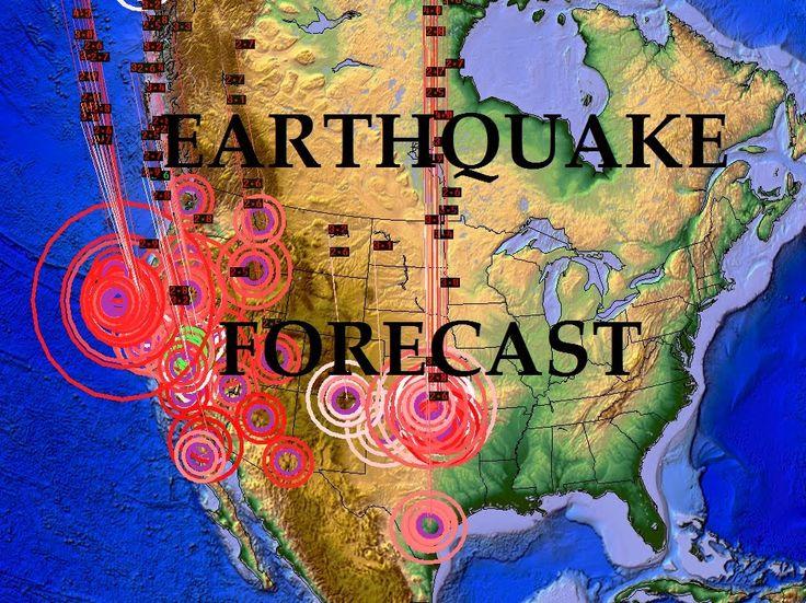 2/4/2015 -- Earthquake Forecast -- West coast AND East coast watch