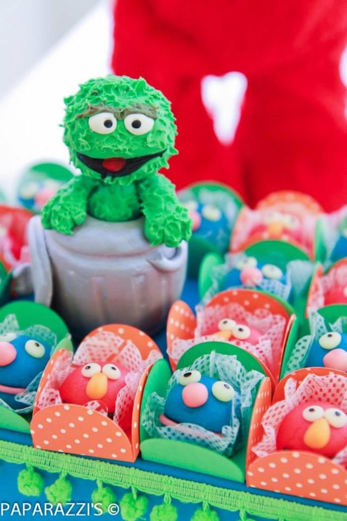 Sesame Street Themed 3rd Birthday Party
