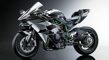Kawasaki Ninja H2R - If any bike is trying to kill you it's this one