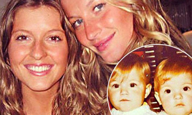 Birthday girl Gisele Bundchen lavishes twin sister Patricia with love