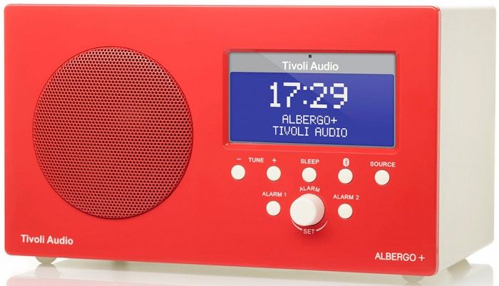 The Tivoli Albergo+ DAB/DAB+/ DMB/FM Radio uses the same three-inch full range, long throw driver that has previously been used in the Tivoli Model One, allowing the Albergo+ to produce excellent quality sound from a cabinet that uses very little space.