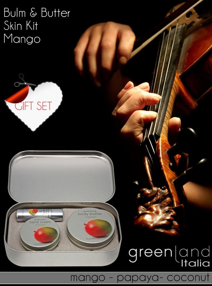 Armonizzatevi la vita con le coccole dei nostri bellissimi Skin Kit nelle confezioni in metallo...  Perchè la musica è amore e l'amore è armonia!