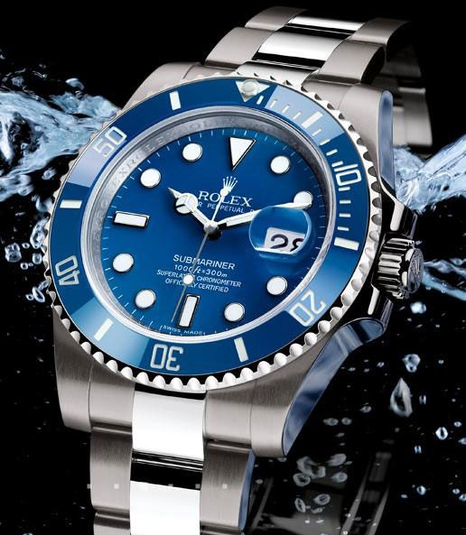Back in 1953, when it was introduced for the first time, Rolex Submariner was the only watch that could resist water-pressure up to 100 meters (330 feet). This timepiece was the perfect tool for professional divers, but it also possessed the sophisticated sport elegance that made it suitable for almost every occasion.