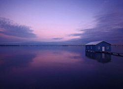 FEA-0007235 © WestPix The old boatshed on the Swan River Perth. Picture: Shaun Fearn