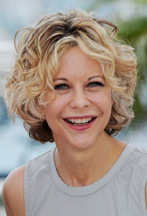 SHORT- Meg Ryan, 2010. Get out of your hair rut with these hairstyles that will inspire a new do.