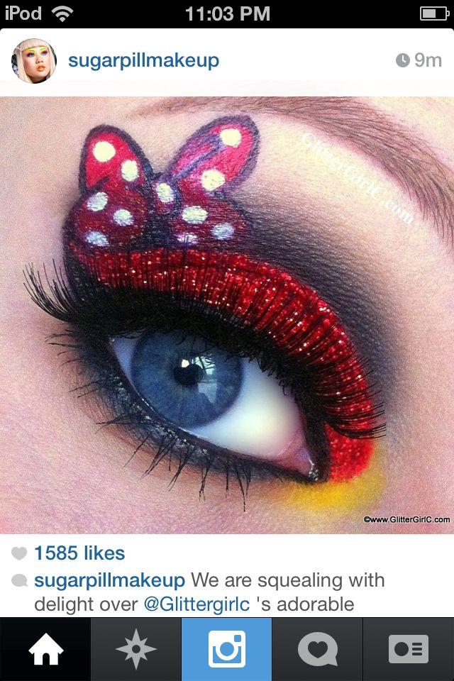 Minnie Mouse Makeup Halloween
