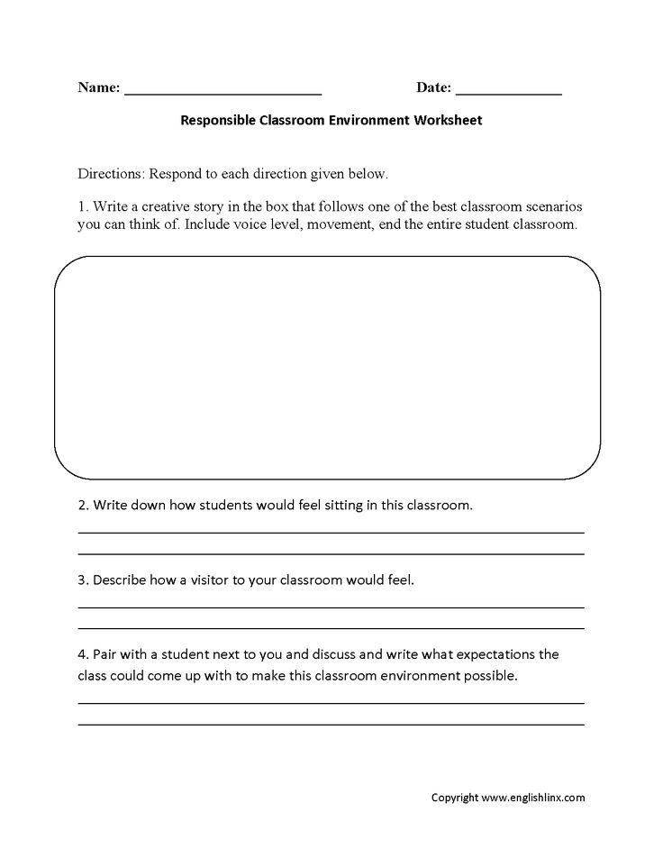 14 best Back to School Worksheets images on Pinterest | Back to ...