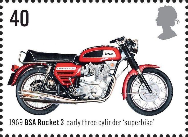 BSA Rocket  3 1969