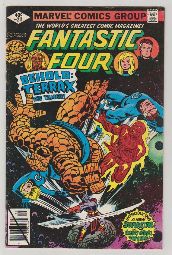 Fantastic Four V1 211 Comic Book.  FN. by RubbersuitStudios #fantasticfour #comicbooks