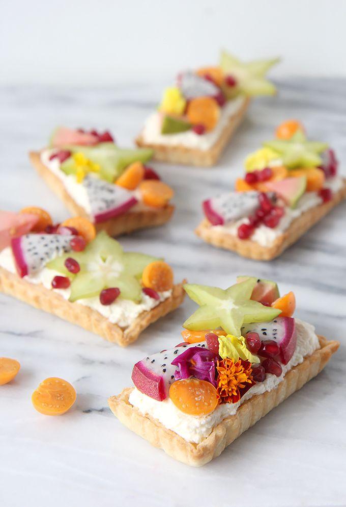 Exotic Fruit Tartlet