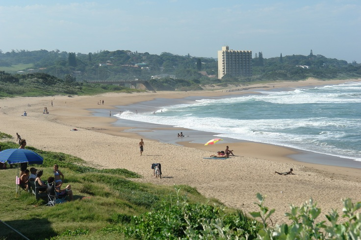 Umtentweni beach - only 5 mins from our old house ... after school was in SA