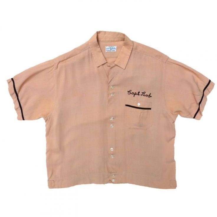 ビンテージボーリングシャツ【Service Bowling Shirt】【1960's】VINTAGE BOWLING SHIRTS - RUMHOLE beruf online store