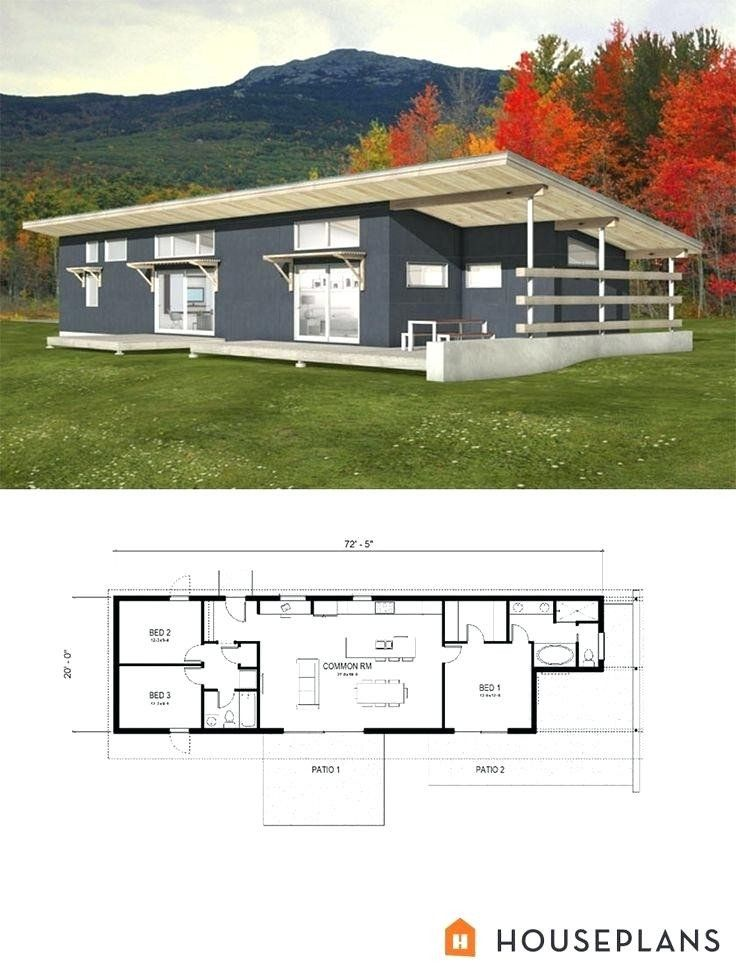 Modern House Plans With View Small Energy Efficient Homes Neat Design View In Gallery Modern Style House Plans Modern House Plans Small House Plans