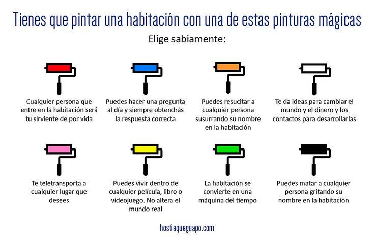 https://flic.kr/p/FEDC3C | Pinturas mágicas | Juegos para compartir en las redes. Hostiaqueguapo.com