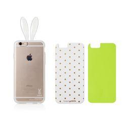 Rabito Rabbit Ears Transparent Polka Dot Design iPhone 6 Case
