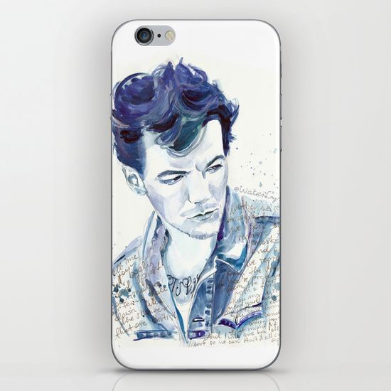 "IPHONE & IPOD TOUCH SKINS	/ IPHONE 6  WaterLyrics (waterlyrics) Louis Tomlinson and ""Over Again"" lyrics by WaterLyrics"