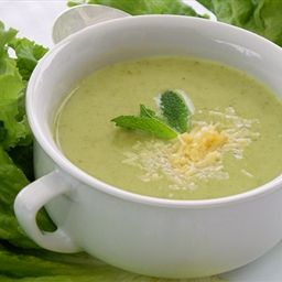 - Pea, Mint And Lettuce Soup