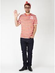 Adult Where's Wally Fancy Dress Costume