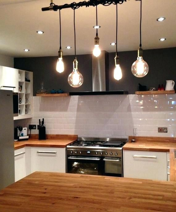 Kitchen Lighting With Bar Lights