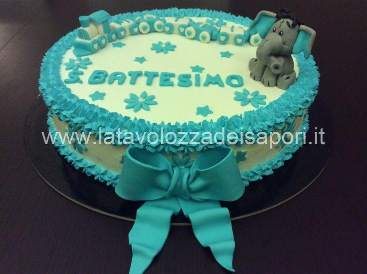 Extrêmement 7 best TORTE PER BATTESIMO images on Pinterest | Cake, Cake  II78
