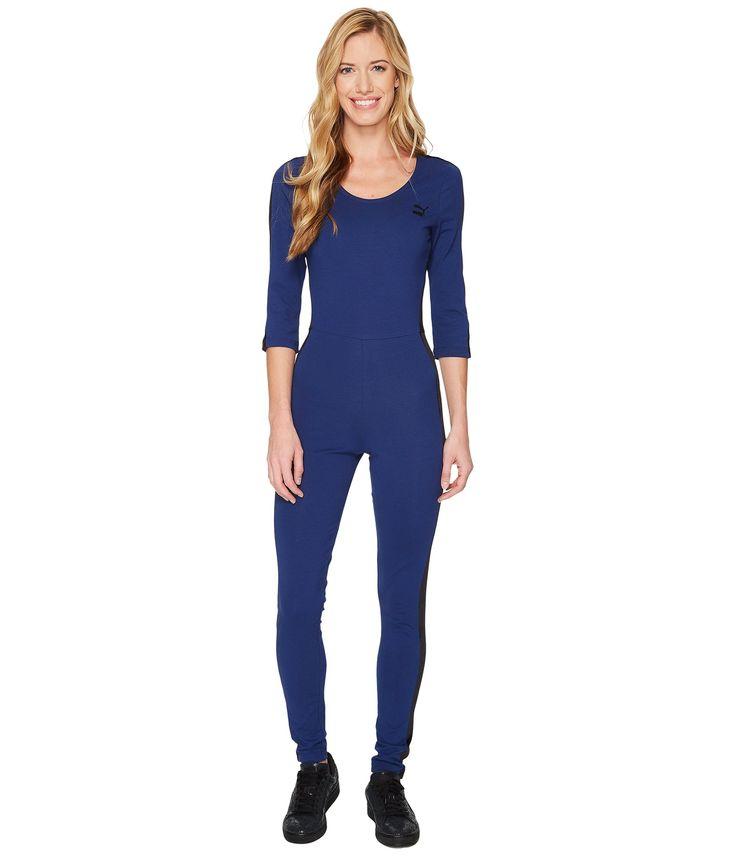 PUMA T7 Velour Jumpsuit. #puma #cloth #