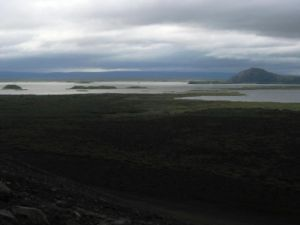 Myvatn in Iceland. S really wants to go but I am v worried about the midges.