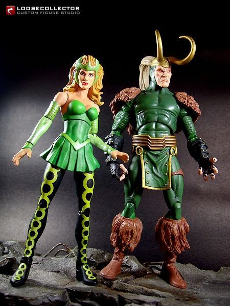 Amora the Enchantress (Marvel Legends) Custom Action Figure